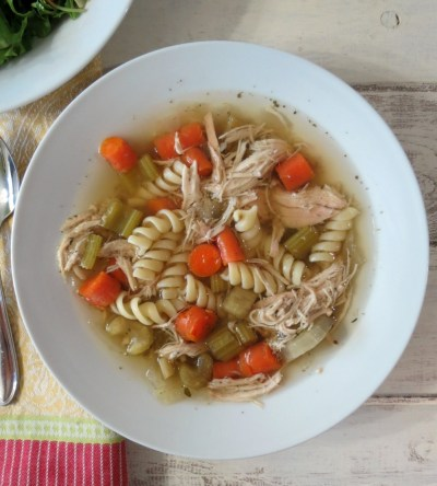 Chicken Noodle Soup - Crockpot