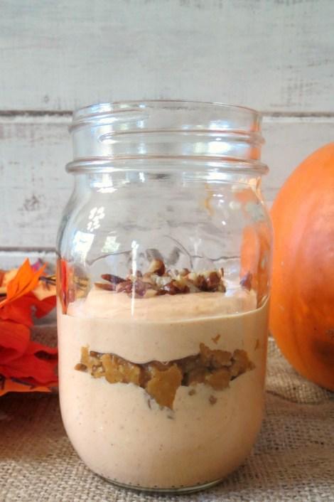 Pumpkin Pie Breakfast Parfait