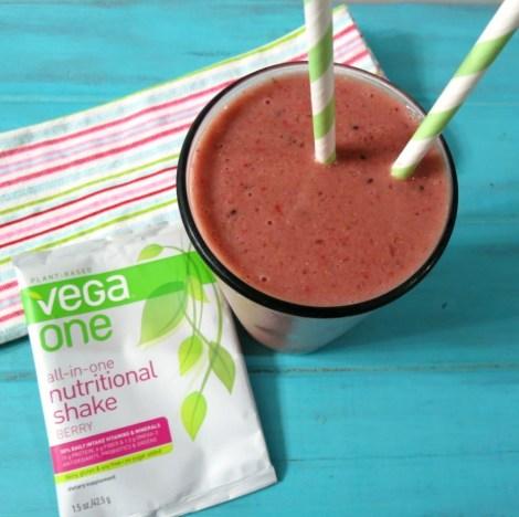 Strawberry Kiwi Nutritional Shake