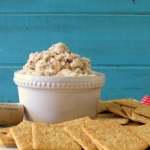 Apple and Walnut Crab Dip #HolidayEntertaining