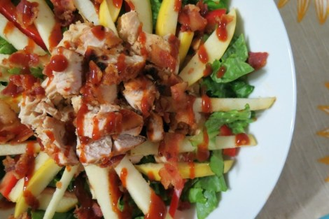 Barbecue Chicken and Apple Salad