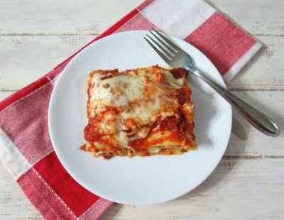 Three Cheese Meat Lasagna