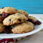 Cranberry Orange Chocolate Pistachio Cookies
