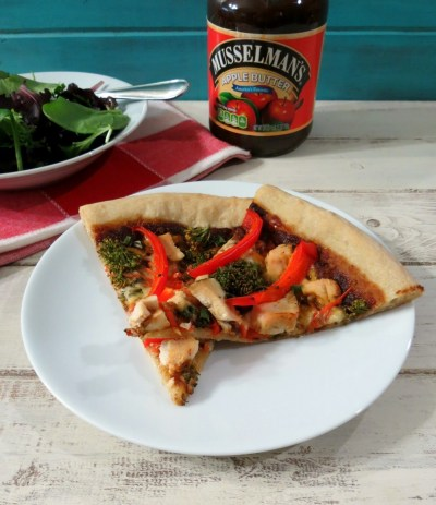 Sweet & Spicy Chinese Chicken Pizza