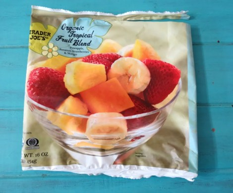 Trader Joes Tropical Fruit Blend