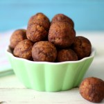 Chocolate Peanut Butter Quinoa Balls / Giveaway #SampleWholeGrains