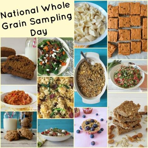National Whole Grain Sampling Day Recipes