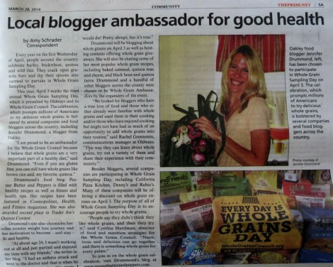 PBandP Oakley Press Article