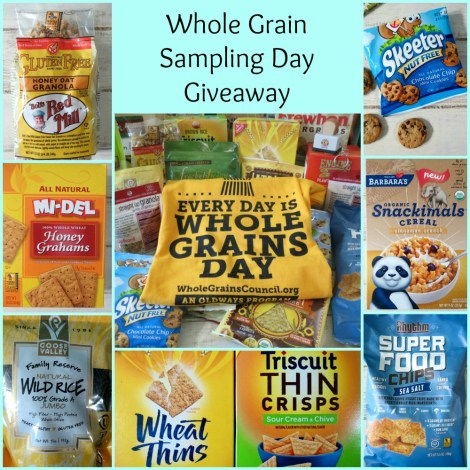 Whole Grain Sampling Day Giveaway