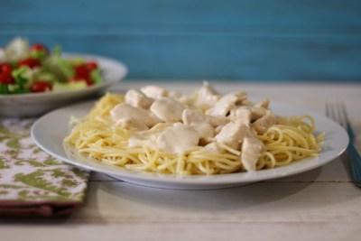 Creamy Chicken Parmesan Pasta