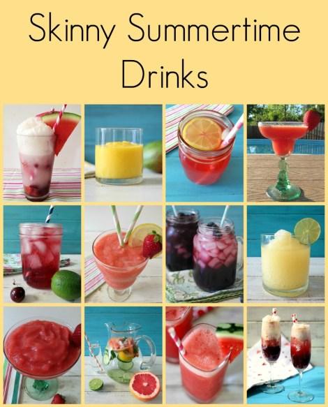 Skinny Summertime Drinks