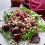 Cherry Chicken Salad by Cindy's Recipes and Writings