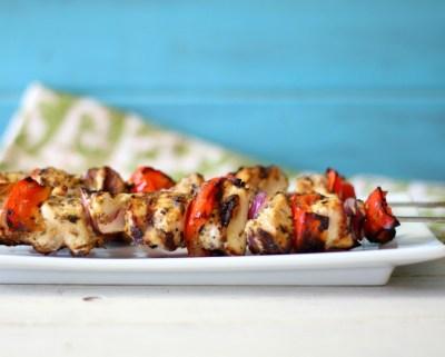 Brazilian Chicken Kabobs #FlavorStory