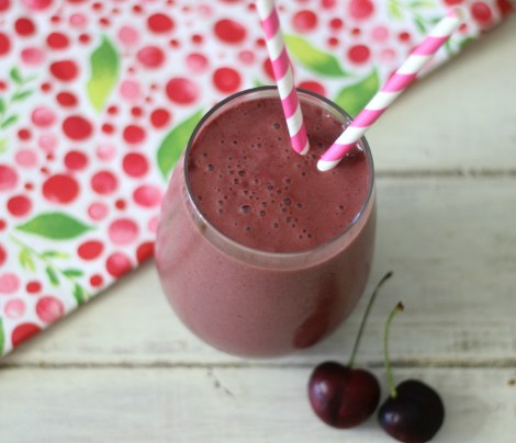 Cherry Vanilla Protein Shake
