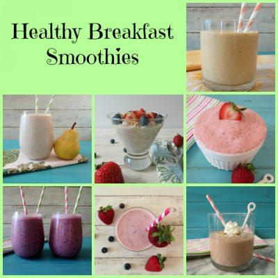 Healthy Breakfast Smoothies