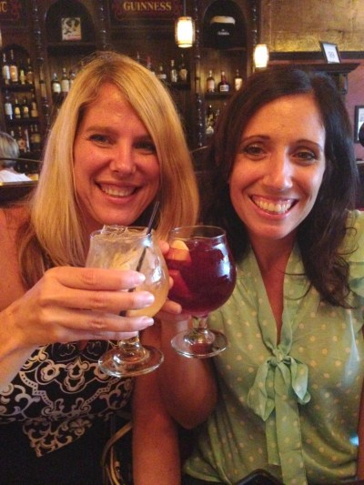 Jennifer and Denise, cheers