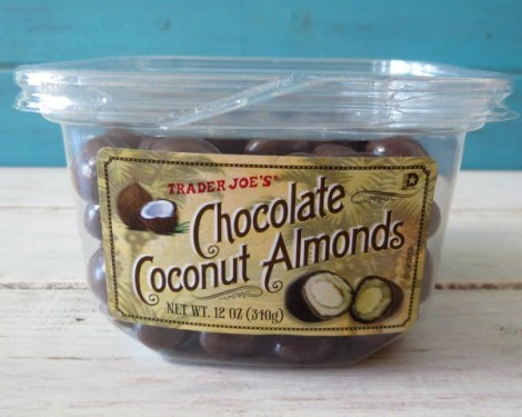 Trader Joes Chocolate Coconut Almonds