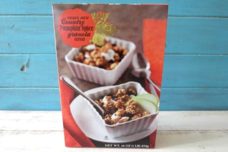 Trader Joes Country Pumpkin Spice Granola Cereal