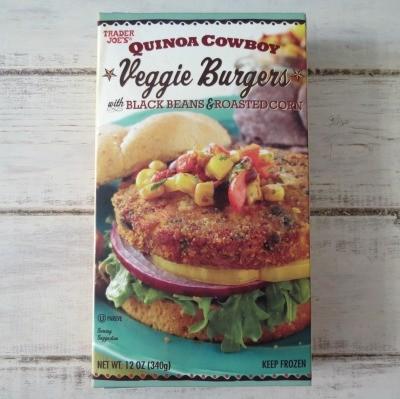 Trader Joes Qunioa Cowboy Veggie Burgers