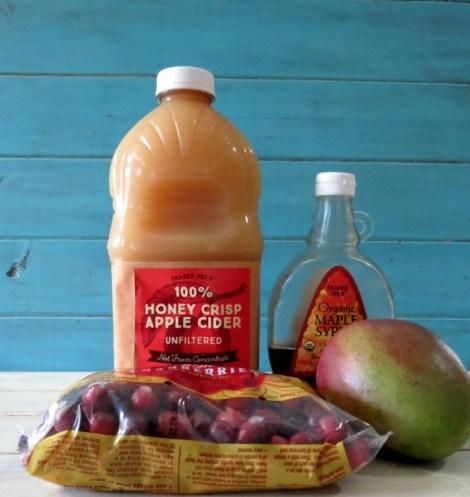 Cranberry Mango Sauce