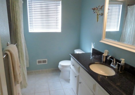 Guest Bathroom #OXOSpringCleaning