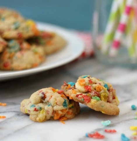 ... cookies, add some Fruity Pebbles to them. They are also gluten-free