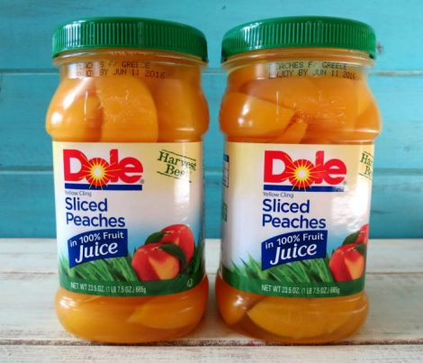 DOLE Sliced Peaches DoleJarredFruit AD @Dole Packaged