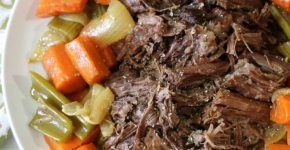 Beef Pot Roast #SundaySupper #RoastPerfect