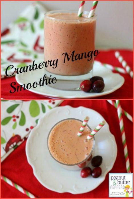 Cranberry Mango Smoothie