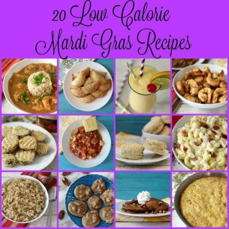 20 Low Calorie Mardi Gras Recipes