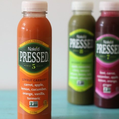 Naked Cold Pressed Juice Lively Carrot