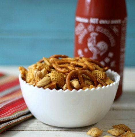 Sriracha Chex Mix