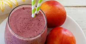 Nectarine Blueberry Smoothie