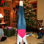 Christmas Is More Fun With Headstands