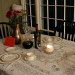Valentine's Dinner and Honeymoon Memories