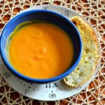Carrot Butternut Ginger Soup