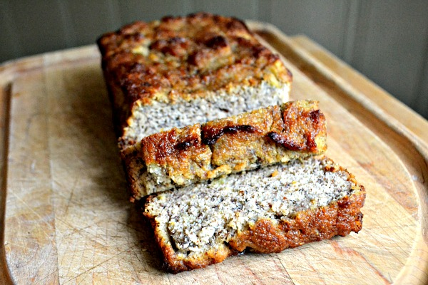 Paleo Low-Fat Banana Bread
