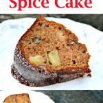 Maple Apple Spice Cake
