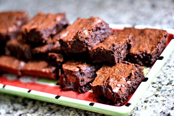 Salted Fudge Brownies (The Best Brownie Recipe Ever!) - Peanut Butter ...