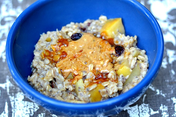Apple Cinnamon Oatmeal 2