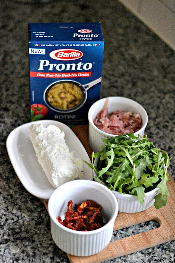 Barlilla Pronto Proscuitto Pasta Ingredients