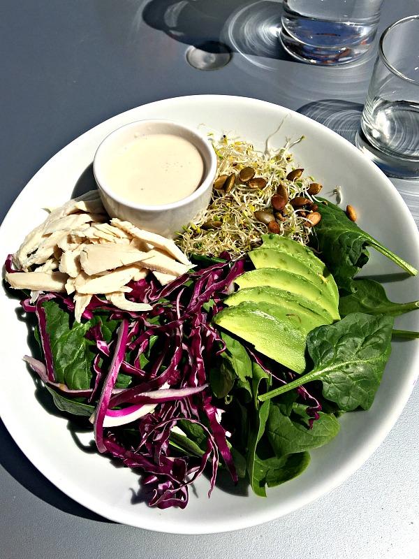 Remix salad at Namastay Kitchen