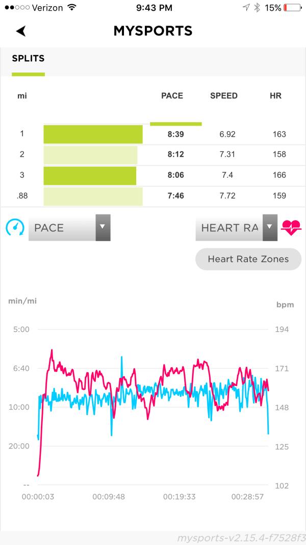 TomTom Spark Cardio + Music GPS Fitness Watch MySports App