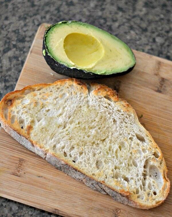 Sourdough Toast and Avocado