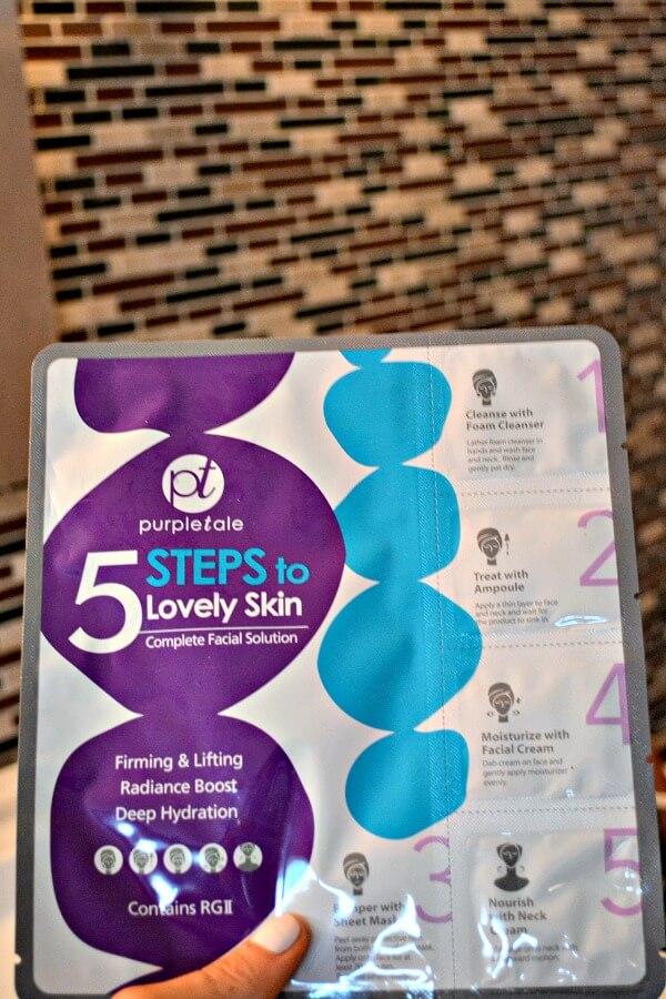 PurpleTale 5-Step Facial Kit