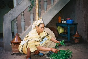 "When I was in Morocco I had tea at this woman's house. In ""Zabel"" the characters drink lots of mint tea. The memory of the woman sorting leaves and adding boiling water with the subsequent mint aroma filling the room helped me to add that detail to the novel."