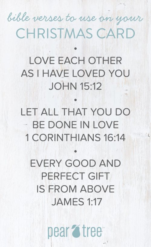 Medium Of Bible Verses For Christmas Cards