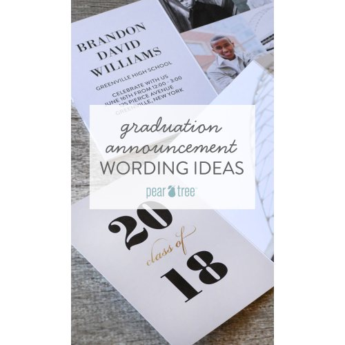 Medium Crop Of Graduation Announcements Wording