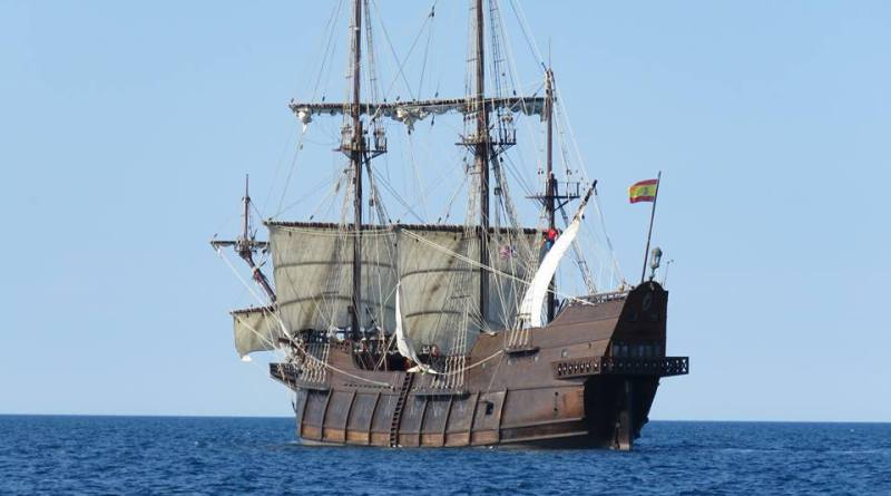 "Spanish Galleon ""El Galeón"" to Call in Greenport"