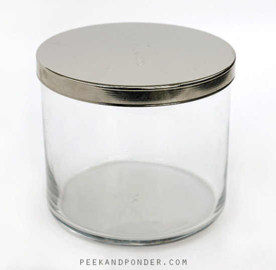 how to clean out your candle jars. Black Bedroom Furniture Sets. Home Design Ideas